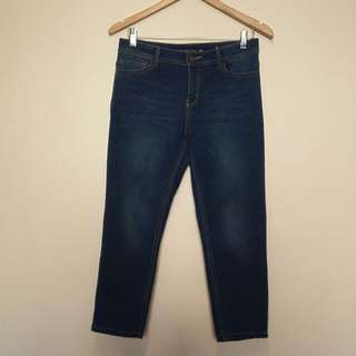 3/4 Cropped Jeans