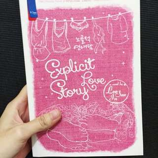 Explicit Love By Lee Sae Inn