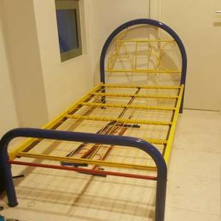 Colourful Single Bed Frame Only