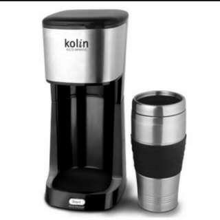 Kolin 歌林 隨行杯咖啡機