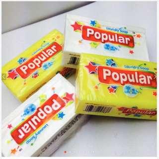 popular超強潔淨洗衣皂