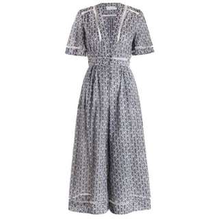SOLD PENDING PAYMENT Zimmermann Henna Stamp Jumpsuit in Print, Size 1 (AU 10)
