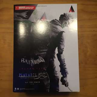 Play Arts Kai Arkham City Joker