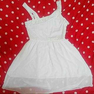 白色 小禮服 洋裝