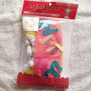 日本SWIMMER甜甜圈電風扇網罩/網套#家飾出清