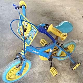 海綿寶寶腳踏車