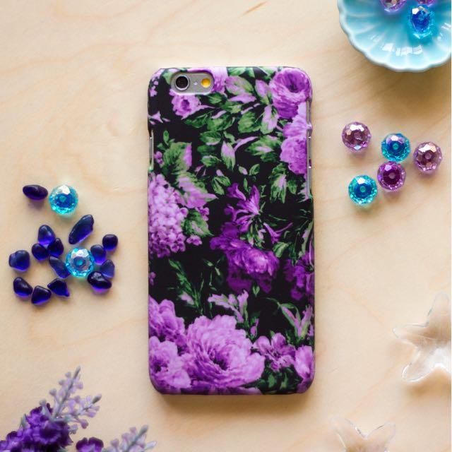 紫蘿蘭 //原創手機殼- iPhone, HTC, Samsung, Sony,oppo, LG 磨砂硬殼/全包軟殼