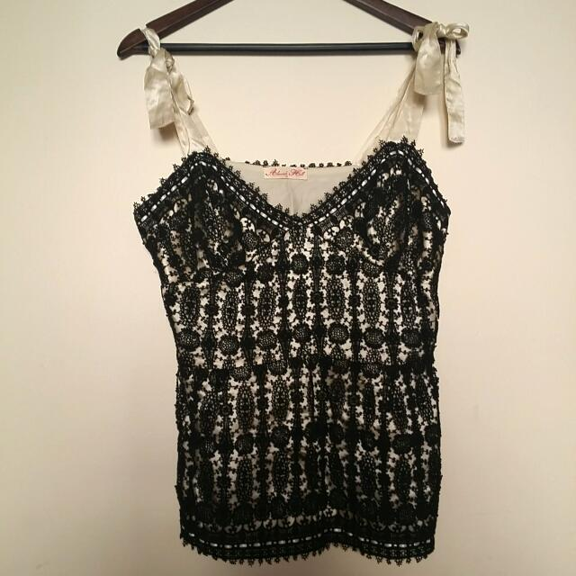 Alannah Hill Lace Cami Size 14