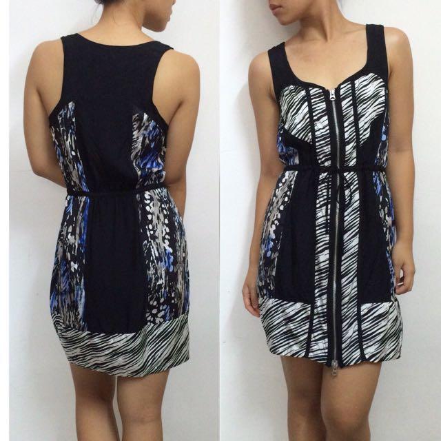 ARMANI EXCHANGE Illusion Panel Dress