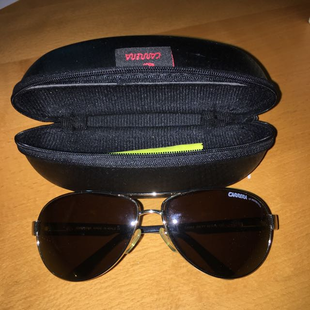 Authentic Carrera Sunglasses. 9/10 Condition. With Case And Cloth.