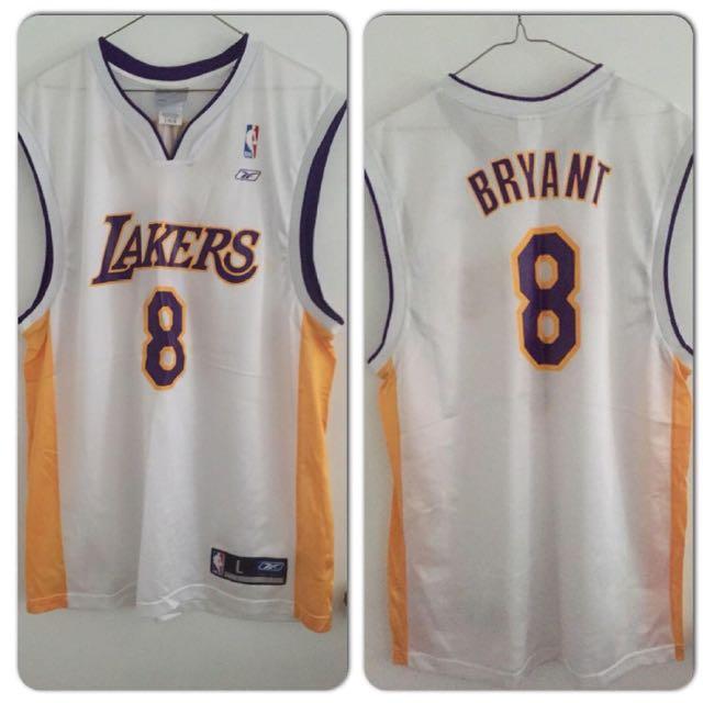 Authentic Reebok Los Angeles Lakers Kobe Bryant jersey - SIZE L