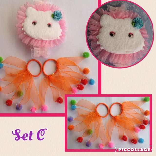 🌺Baby/Kids Head Piece Set