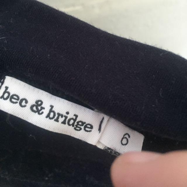 Bec And Bridge Size 6 Nautical Dress