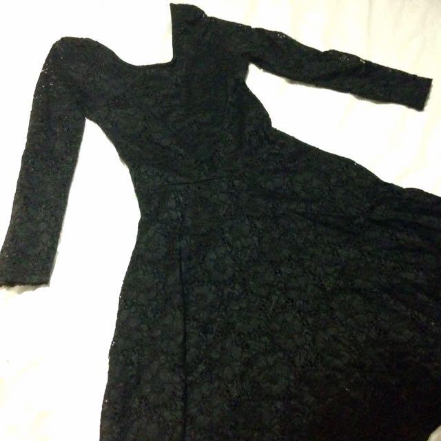 Black Lace Factorie Dress