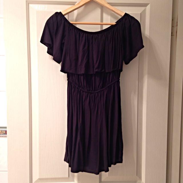Black Off Shoulder Dress
