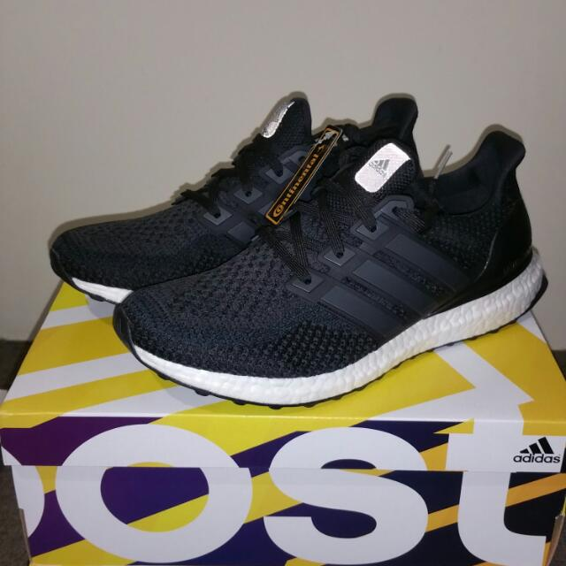 004551b1c65b1 US10 Brand New Adidas Ultra Boost Core Black 2.0