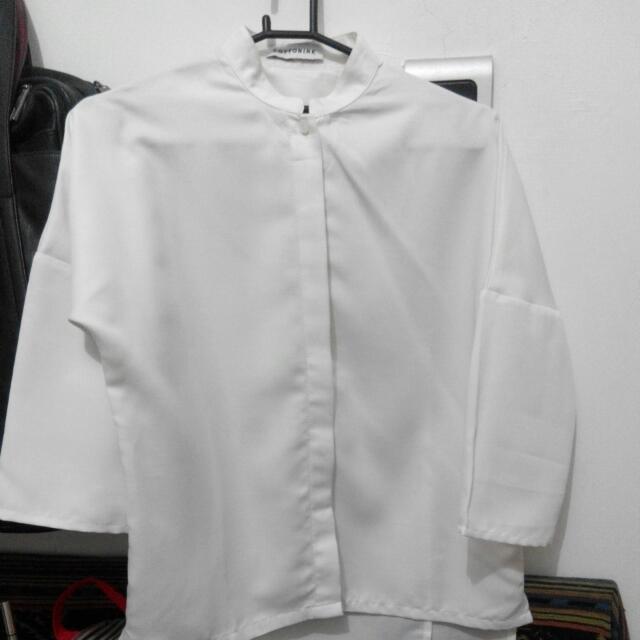 Cotton Ink White Shirt