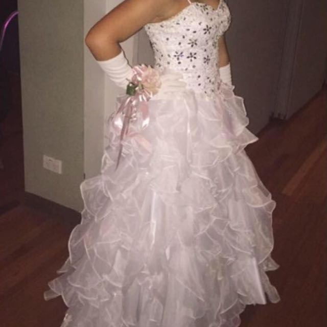 Custom Made Deb Dress (Only Worn Once)