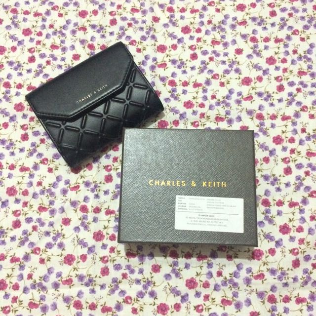 NEW Dompet Charles & Keith JEHA Hanggini