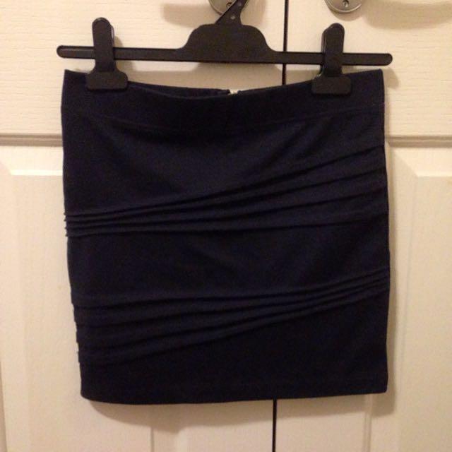 Dotti Mini Black Skirt