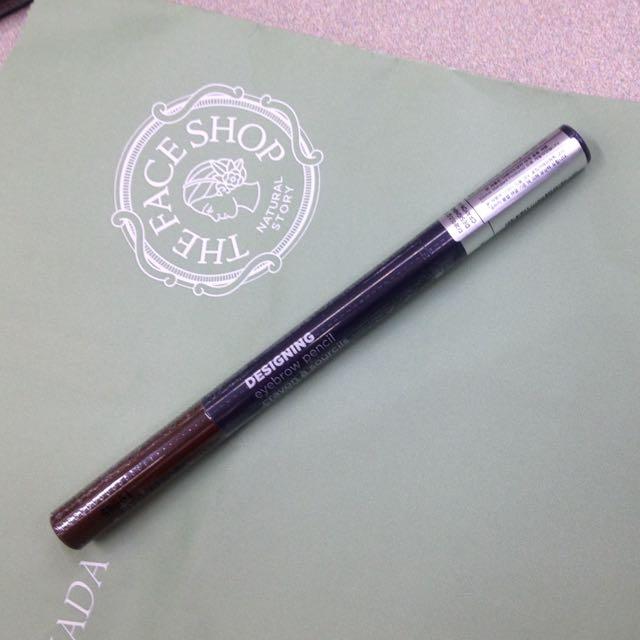 Face Shop Eyebrow Pencil (Retractable)