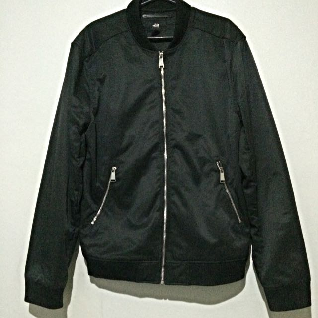 H&M Men's Black Jacket