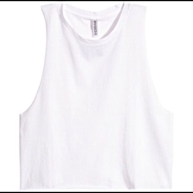 NEW H&M Basics Muscle Tee