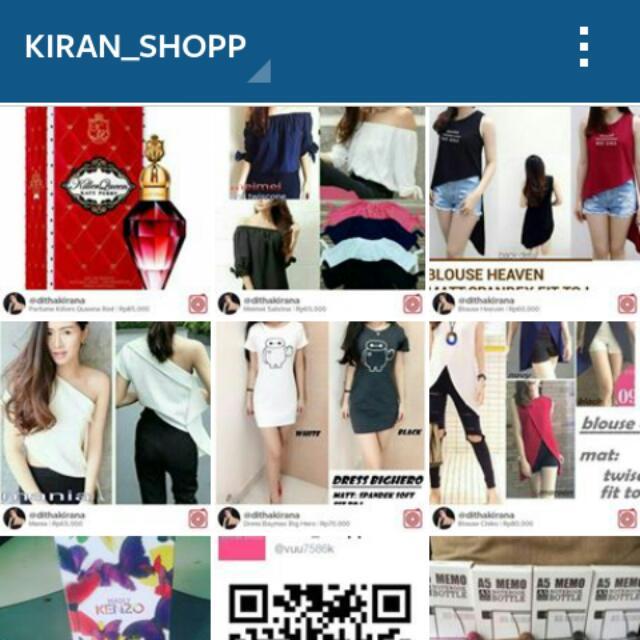 Instagram @kiran_shopp