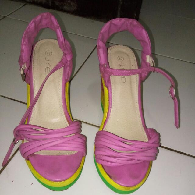 J- Rep Rainbow Shoes