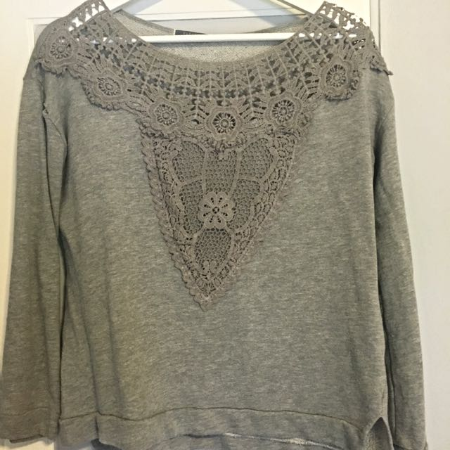 Lace Light Sweater