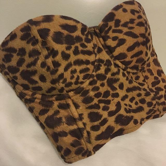 Leopard MINKPINK Crop