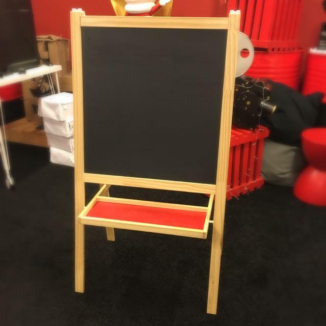 Mala Easel Blackboard Whiteboard From Ikea Babies Kids On Carousell