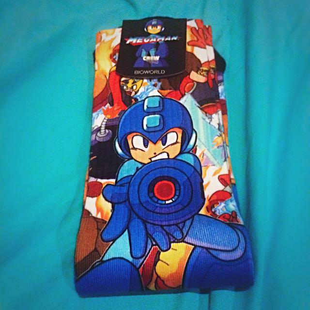 Mega Man Lootcrate Socks