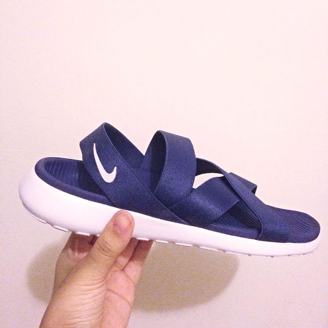 降❗️Nike Roshe One Sandal (深藍) Nike繃帶鞋
