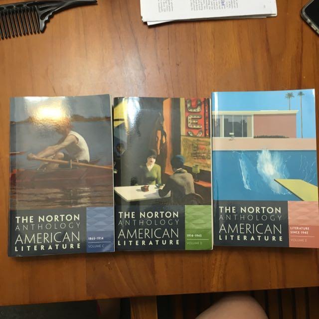 Norton Anthology American Literature CDE
