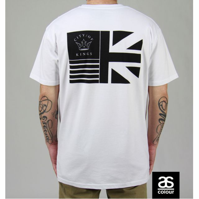 ON SALE! VCTRY FLG white tee