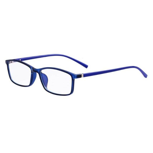 0a26507b6c9b PC Glasses   Spectacles – Silver Lining in Electric Blue – Anti Blue Light