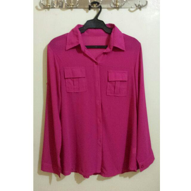 Pink Blouse!😊
