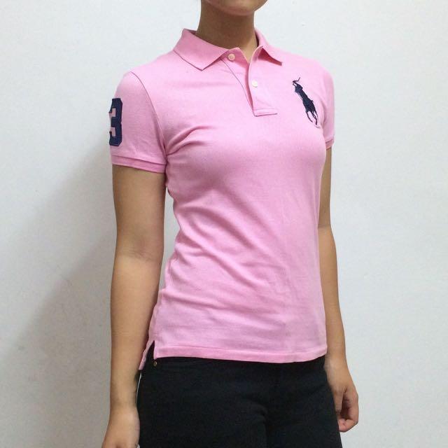 RALPH LAUREN Pink Shirt