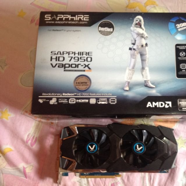 Sapphire 7950 Vapor-x Oc Edition