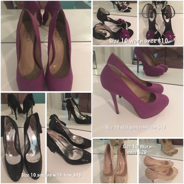 Shoes- Heels Size 10