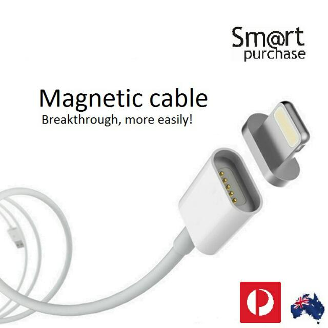 Super fast 2.4A Micro USB Charging Cable Magnetic Adapter Charger For iPhone 5 6