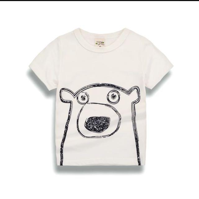 熊熊呆呆短袖t