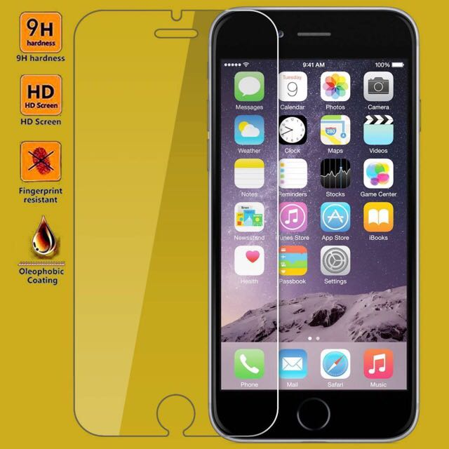 Tempered Glass Screen Protector For Iphone 6 6s 6plus