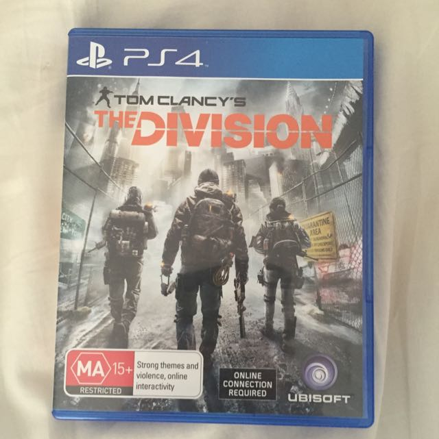 Toms Clancys The Division PS4