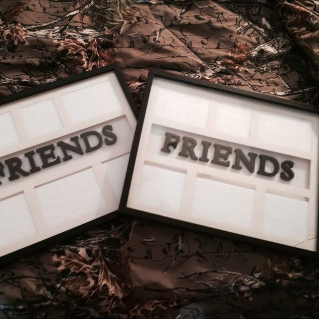 Two Friends Picture Frames.
