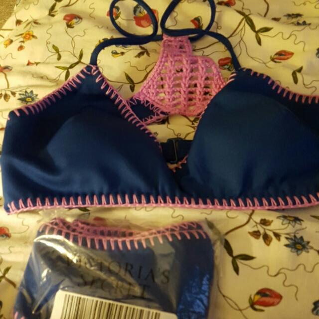 Victoria Secret Bathing Suit - Crochet Surf Bralette