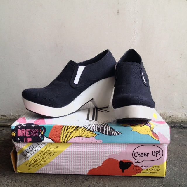 Wear Up Shoes Taylor Black Size 38