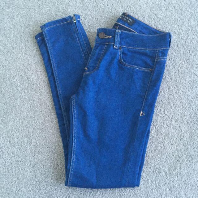 Zara Skinny Legged Jeans
