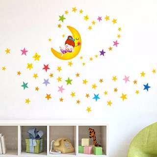Twinkle Stars Wall Stickers / Wall Decal
